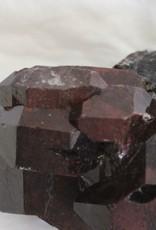 Black Jacare Smoky Quartz Elestial with Manganese coating ~ Brazil
