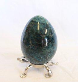Blue Apatite Egg