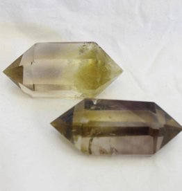 Natural Citrine Double Terminated Point ~ Brazil