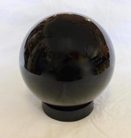 Obsidian Black Sphere ~ Mexico