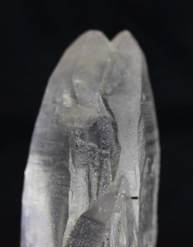 Quartz Point with Black Tourmaline ~ Afghanistan    Partner, Starbrary