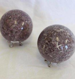 Lepidolite Spheres ~ Brazil