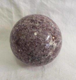 Lepidolite Sphere ~ Brazil