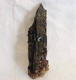 Zomba Malosa Smoky Quartz with Aegirine Point ~ Malawi