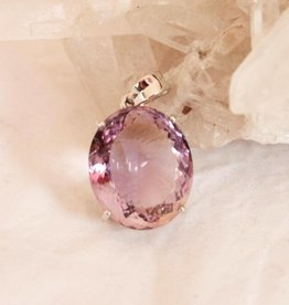 Ametrine Pendant ~ Oval Faceted front and back