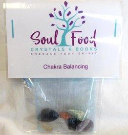 Soul Food Books Chakra Balancing Crystal Kit