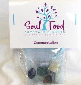 Soul Food Books Communication Speaking Crystal Kit