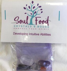 Soul Food Books Developing Intuitive Abilities Crystal Kit