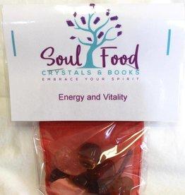 Soul Food Books Energy and Vitality Crystal Kit
