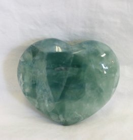 Fluorite Heart Green ~ Mexico
