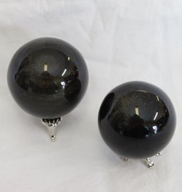 Obsidian Sheen Sphere ~ Mexico