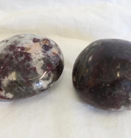 Rubellite (dark Pink Tourmaline) in Quartz Polished