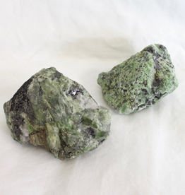 Tremolite Chrome with Pyrite and Galena