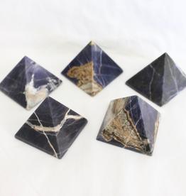 Opal Purple Polished Pyramids