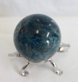 Blue Apatite Sphere ~ Madagascar