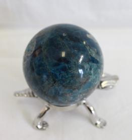 Nature's Expression Blue Apatite Sphere ~ Madagascar