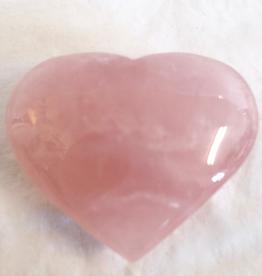 Rose Quartz Heart ~ Brazil