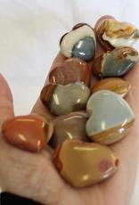 Polychrome Jasper Hearts ~ Madagascar