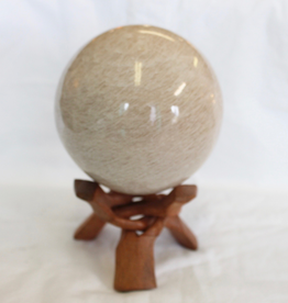 Moonstone Sphere includes stand ~ India