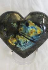 Labradorite Heart ~ Madagascar