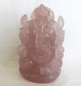 Rose Quartz Ganesh with box