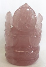 Rose Quartz Ganesh with box