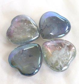 Aqua Aura Hearts
