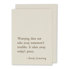 folio2p Randy Armstrong - Worrying