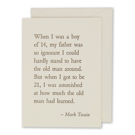 folio2p Mark Twain - Old Man