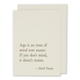 folio2p Mark Twain - Age