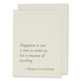 folio2p Margaret Lee Runbeck - Happiness