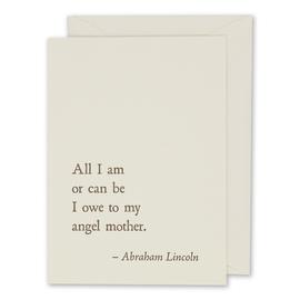 folio2p Abraham Lincoln - Mother
