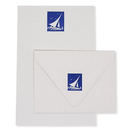 folio2p Sailboat Stationery Set