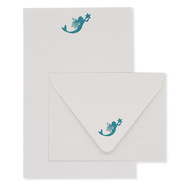 folio2p Mermaid Stationery Set