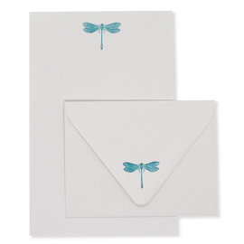 folio2p Dragonfly Stationery Set