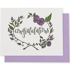 folio2p Congratulations Rose Wreath