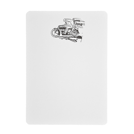 folio2p Motorcycle Couple - Boxed Tails
