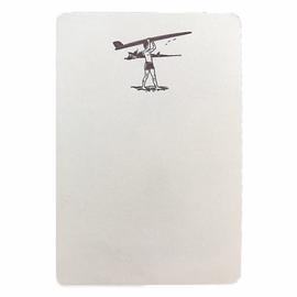 folio2p Longboard Surfer - Boxed Tails