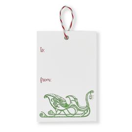 folio2p Sleigh - Gift Tags