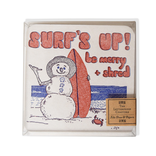 folio2p Surf's Up Be Merry - 10 Coasters