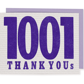 folio2p 1001 Thank Yous (Box of 6 w/eps)