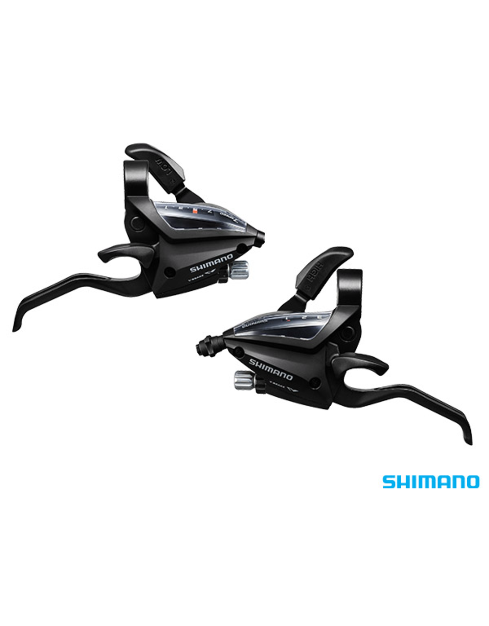 SHIMANO ST-EF500 STI set, 2-finger lever, 3 x 7