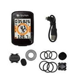 Bryton RIDER 15C GPS w/CADENCE SENSOR BLACK