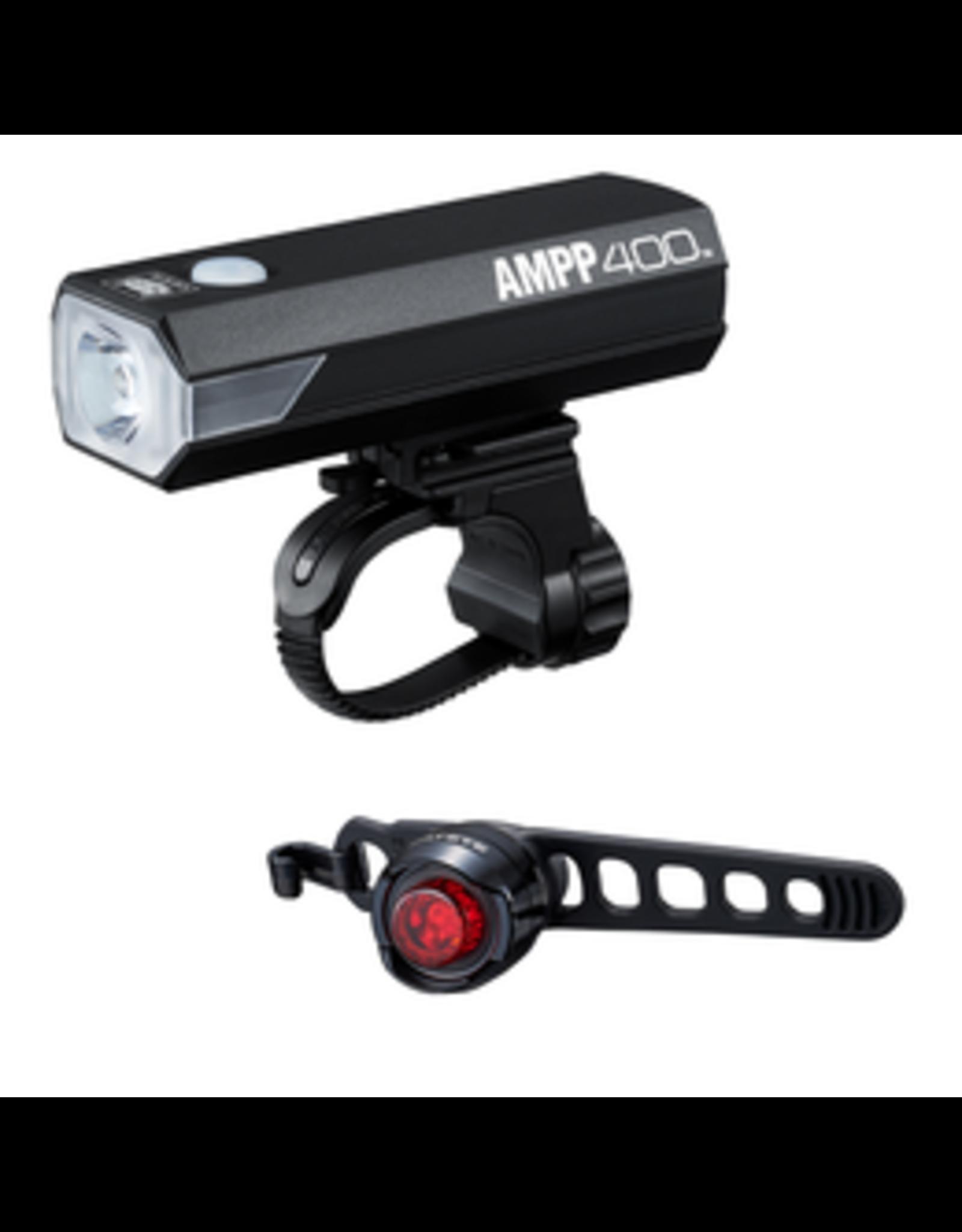 CatEye CTY LIGHTSET AMPP 400 & ORB RC