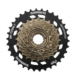 SHIMANO MF-TZ500 7-speed multiple freewheel, 14-34 tooth Black 14 - 34 teeth