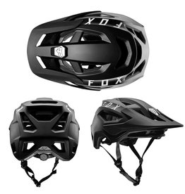 FOX SPEEDFRAME HELMET, AS BLACK MEDIUM