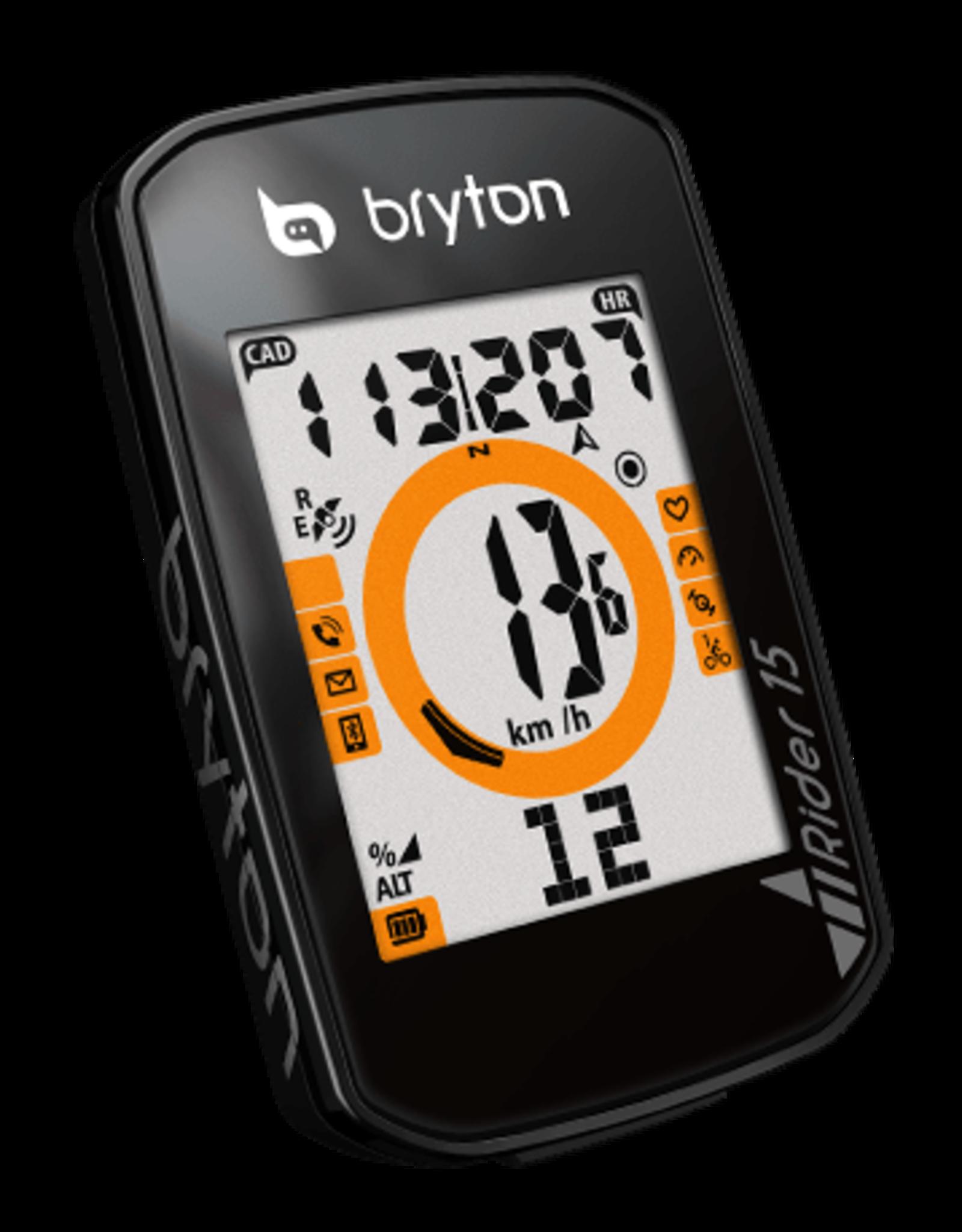 Bryton Rider 15E GPS, Black