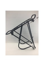 ADJUSTABLE PANNIER RACK WITH SPRING