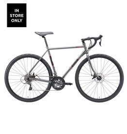 MALVERN STAR MVS OPPY S1 DARK GREY/RED