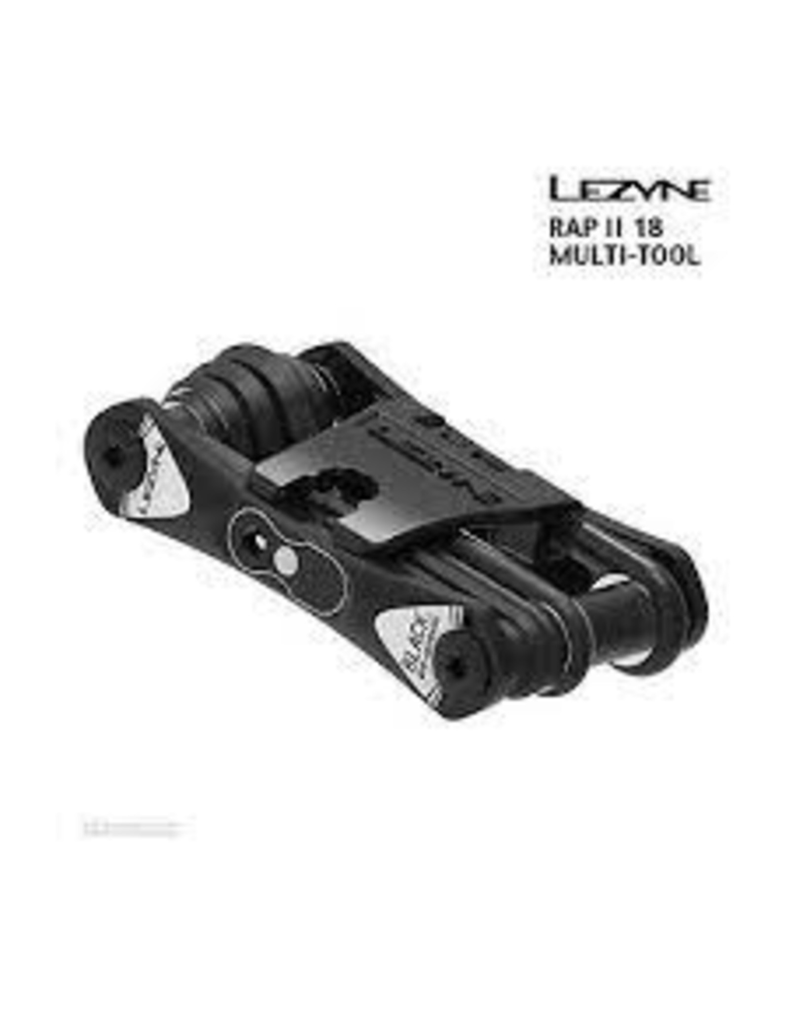 LEZYNE RAP II 18 MULTI TOOL BLACK